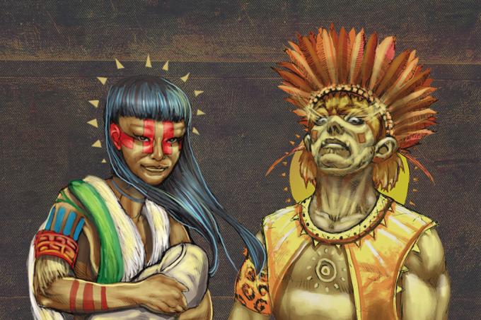 Deuses indígenas