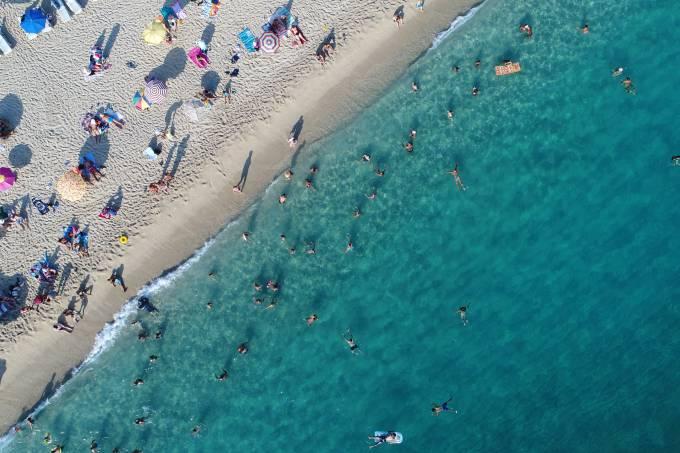 Onde começa e onde termina uma praia?
