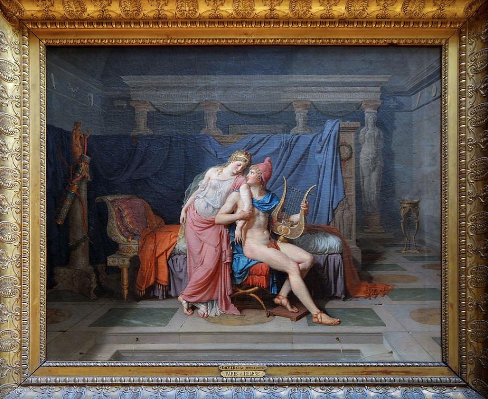 O amor de Helena e Páris