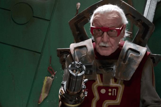 Stan Lee em Thor Ragnarok