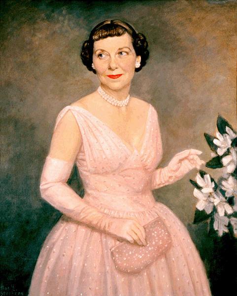 Quadro de Mamie Eisenhower.