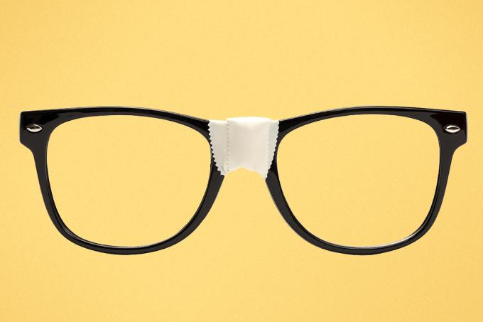 óculos nerd