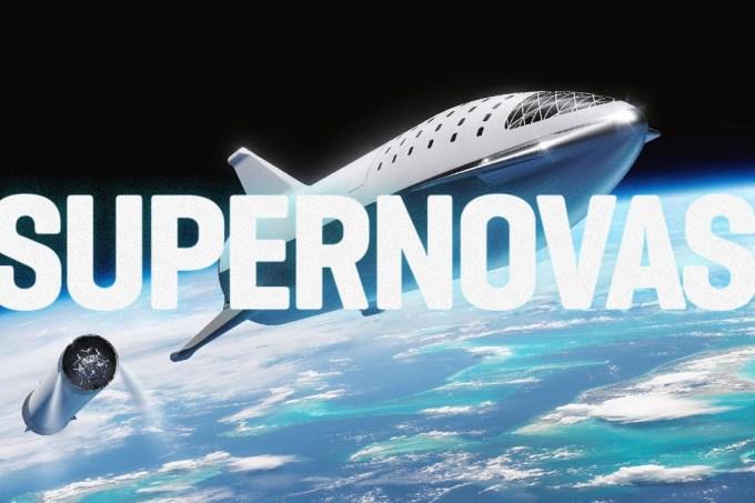 Lançamento do Falcon Heavy da Space X – SUPERNOVAS