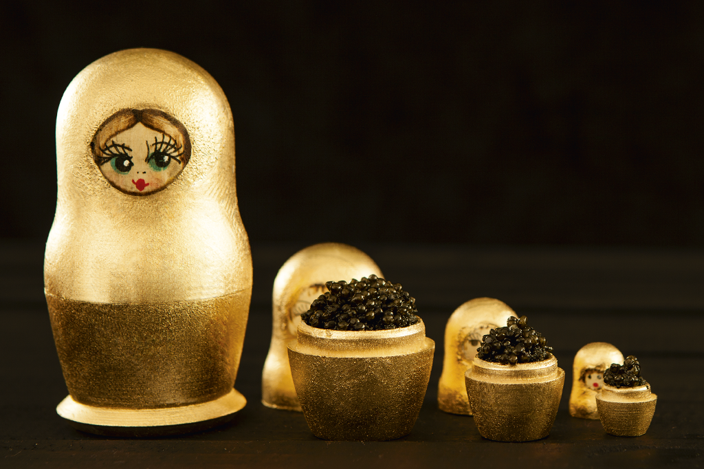 O caviar começou a ser comido por humanos na Rússia do século 9.