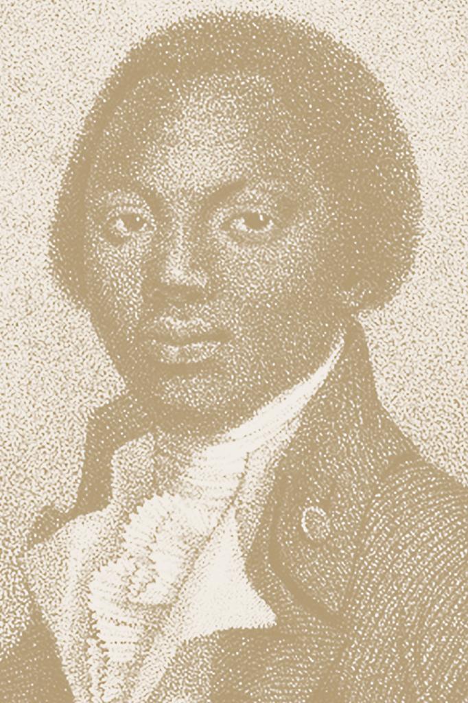 Raptado aos 11 anos, Olaudah Equiano ganhou o nome de Gustavus Vassa ao ser comprado por um oficial inglês.