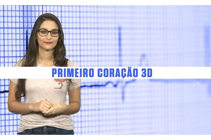 Cientistas imprimem primeiro coração 3D com tecido humano – SUPERNOVAS