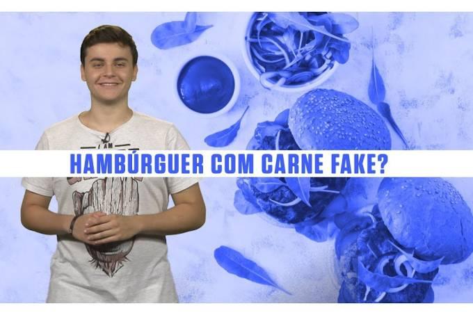 O Burger King começou a vender um hambúrguer 100% sem carne