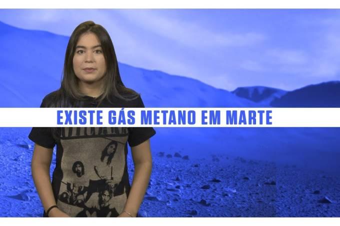 Sondas confirmam a existência de gás metano em Marte  – SUPERNOVAS