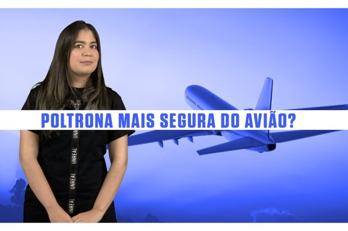 """Existe assento """"mais seguro"""" em um avião? Uma empresa aérea tentou responder – SUPERNOVAS"""