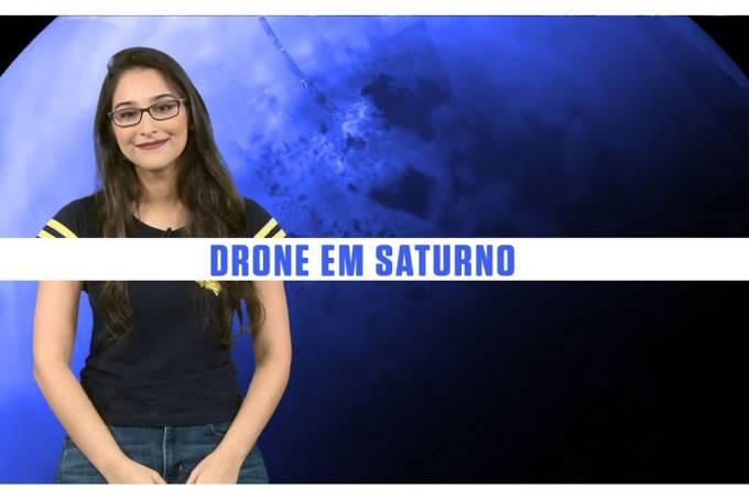 NASA vai mandar drone para procurar vida em Titã, lua de Saturno