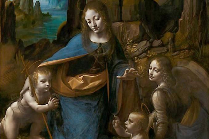 pintura oculta sob obra de Da Vinci – 1