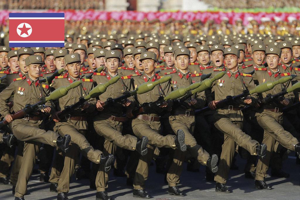 O rato que ruge: um raio X das forças armadas da Coreia do Norte | Super