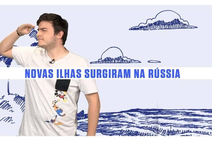 Novas ilhas descobertas na Rússia são resultado do aquecimento global