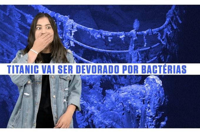 O Titanic vai ser devorado por bactérias