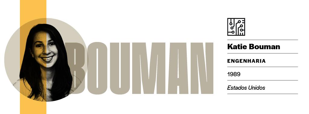 <strong>Nem o céu é o limite. </strong>Katie Bouman foi comparada à cientista Margareth Hamilton, que comandou o desenvolvimento do software usado na Apollo 11.