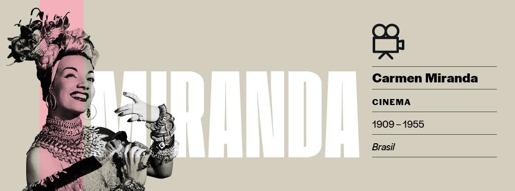<strong>Rica e famosa.</strong> Em 1944, ainda no auge, Carmen Miranda foi a mulher mais bem paga dos Estados Unidos. Segundo divulgou o Tesouro norte-americano na época, ela declarou renda de US$ 201.458 no ano – US$ 2,9 milhões, ou R$ 12 milhões, em valores atualizados.