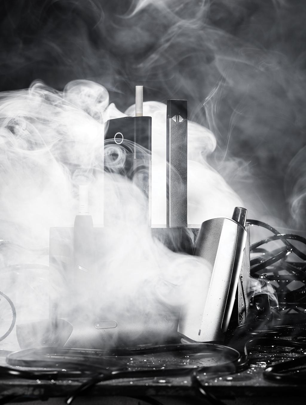 Pesquisas recentes mostram que o vapor de nicotina dos eletrônicos causa câncer de pulmão em ratos de laboratório.