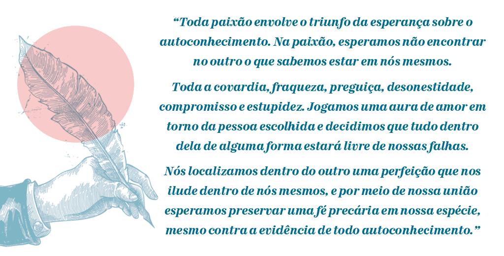 Citação de Alain de Botton