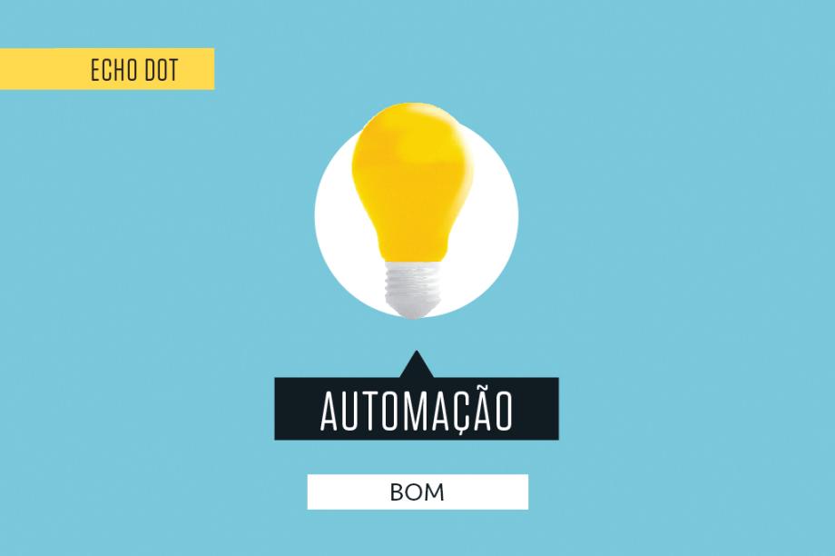 A inclusão de novos dispositivos conectados à Alexa é feita facilmente pelo app, e o robô tem capacidade de gerenciar diversas coisas. Ponto negativo: aqui no Brasil, os gadgets ainda são raros – e caros.