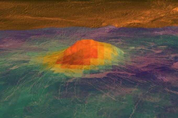 NASA_JPL-Caltech_ESA-vulcoes_ativos_venus
