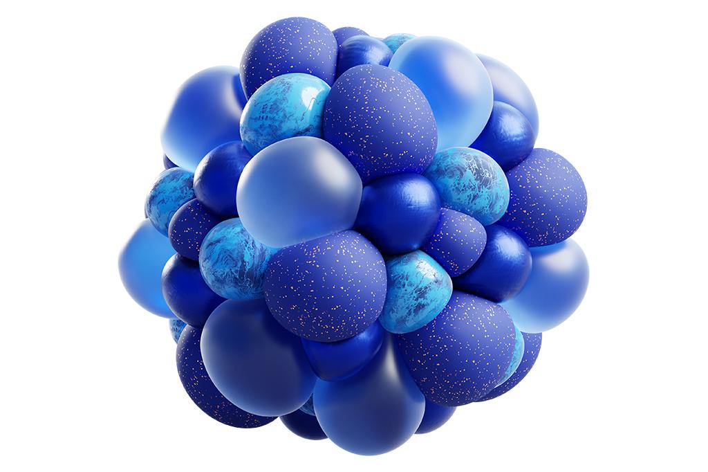 O Universo de Novello não infla para sempre. Ele alterna momentos de expansão e contração, como os balões que enchem e esvaziam.