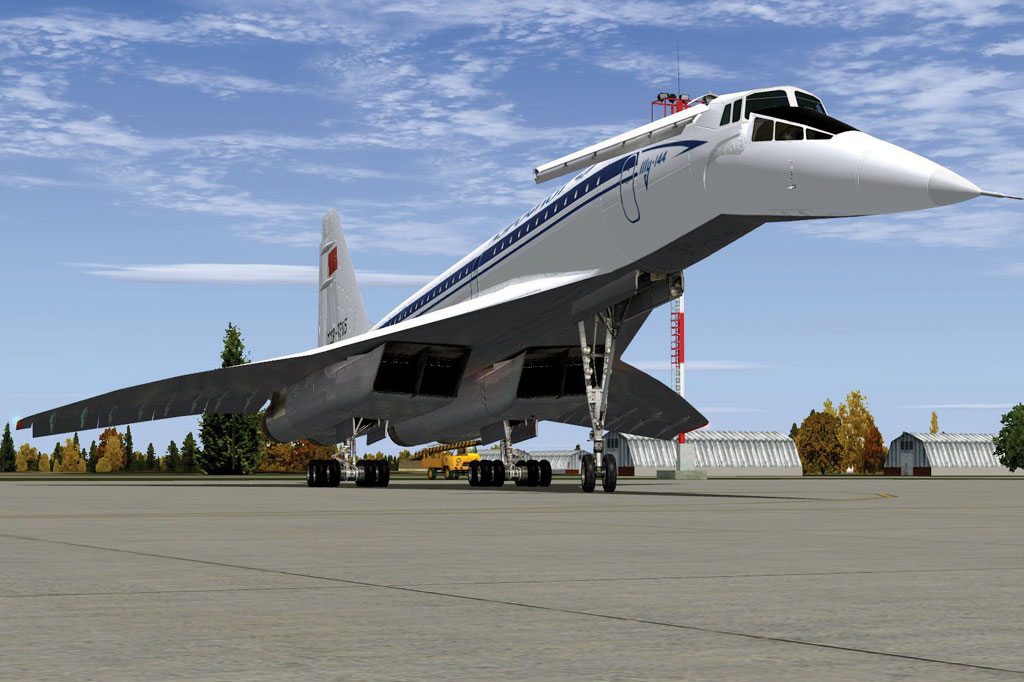 <strong>Embora o Concorde seja o mais conhecido avião civil supersônico, outros foram desenvolvidos na mesma época, inclusive uma quase cópia soviética, o Tupolev Tu-144, que, reza a lenda, se aproveitou de informações do Concorde obtidas pela eficiente espionagem soviética. Embora seu primeiro voo tenha acontecido alguns meses antes de seu primo mais famoso, o Tu-144 sofreu reveses em seu curto período operacional, com falhas e acidentes. Um deles se deu no tradicional salão aeronáutico de Le Bourget, em Paris, em 1973, com o avião se despedaçando num mergulho no ar, vitimando seis tripulantes e outras oito pessoas no solo. Após ter realizado alguns voos comerciais em pequena escala, o Tu-144 foi retirado de operação no final da década de 1970.</strong>