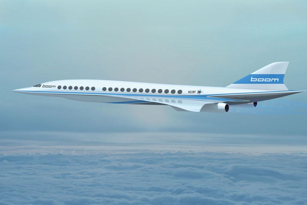 <strong>A Boom Technology, dos EUA, aposta num design ousado, que poderia atingir até 2,2 vezes a velocidade do som com 40 passageiros a bordo. Mas o projeto ainda está em fase inicial.</strong>