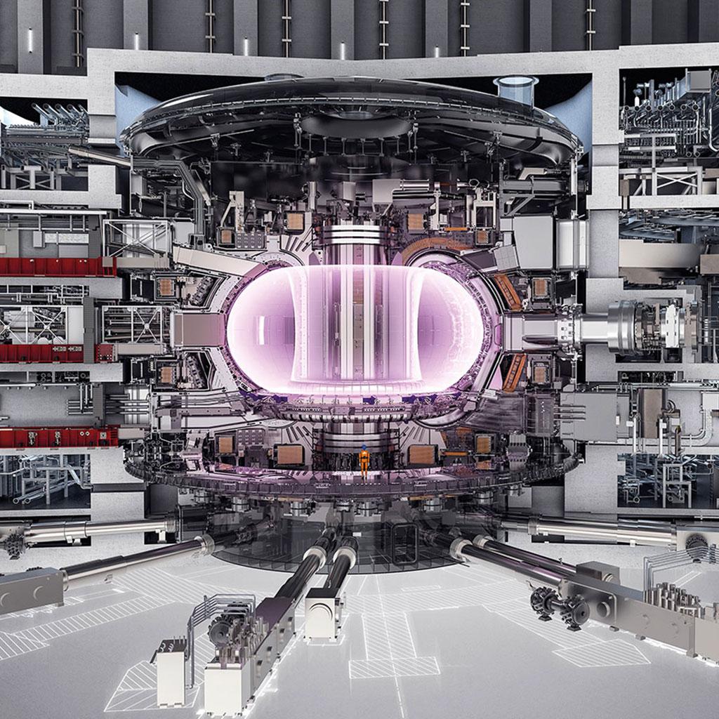 <strong>Quando estiver pronto, o ITER vai gerar plasma a 150 milhões de graus Celsius.</strong>