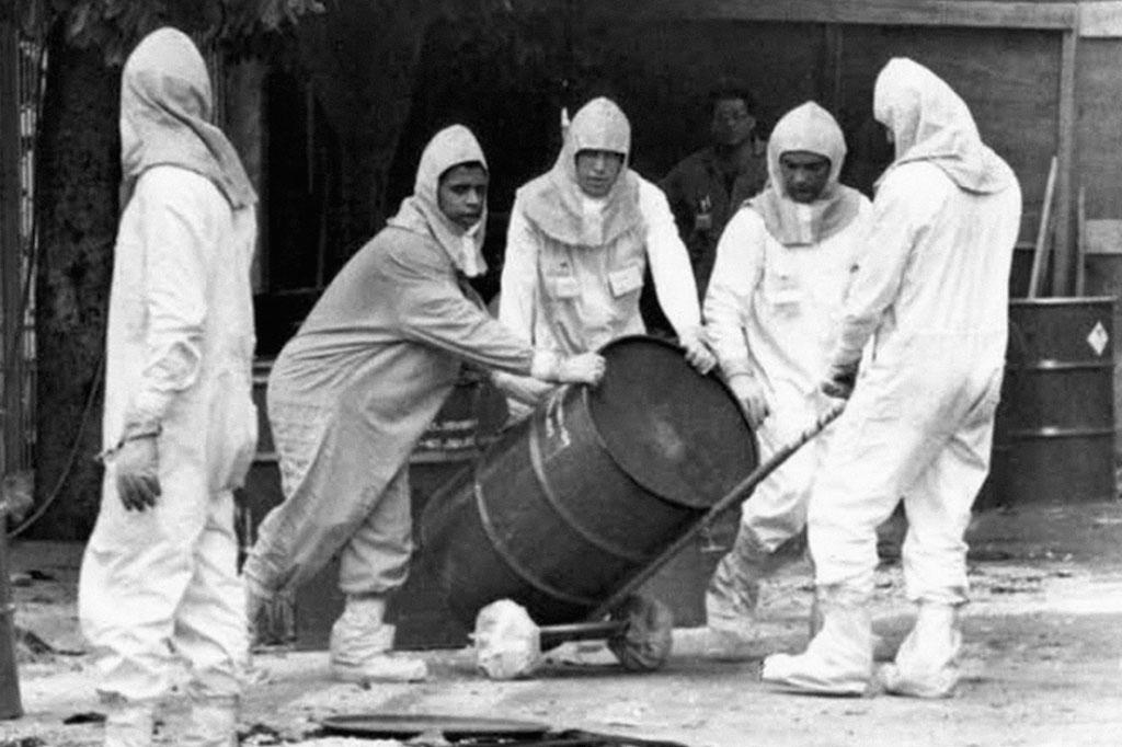 <strong>Seis mil toneladas de lixo radioativo, entre roupas, objetos e móveis, foram levadas até Abadia de Goiás.</strong>