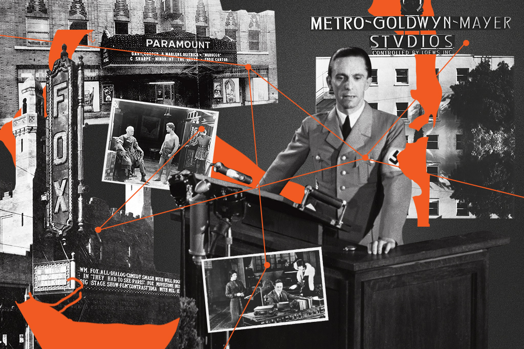 MGM, Paramount e Fox eram os três maiores estúdios da época. E eles aceitavam a censura e os cortes impostos pelo Ministério da Propaganda, que era chefiado por Joseph Goebbels.