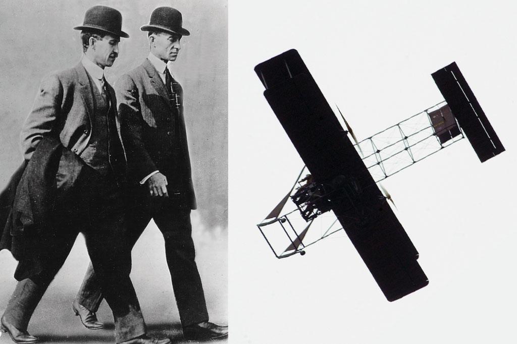 <strong>O Wright Flyer B, de 1910, foi o primeiro avião dos irmãos americanos a ter sucesso comercial.</strong>