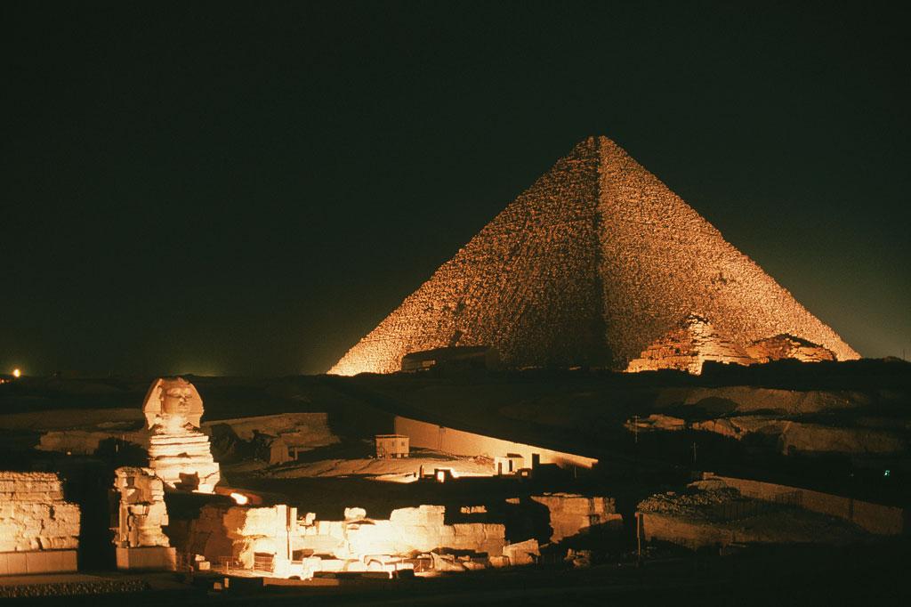 <strong>Obras faraônicas: construções com mais de 5 mil anos ainda estão de pé.</strong>