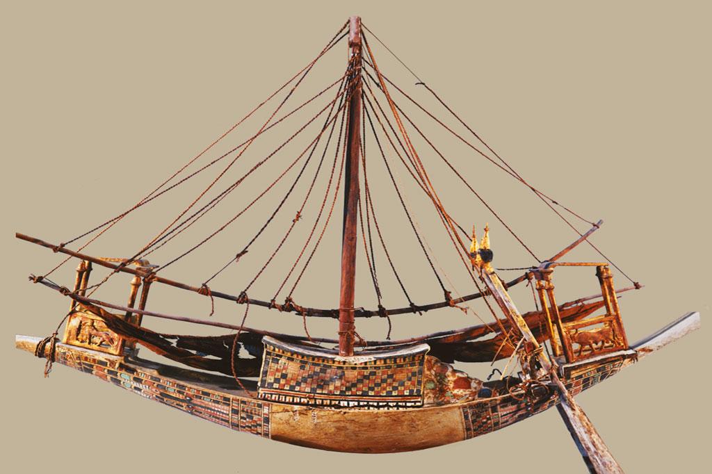 <strong>Egípcios rivalizam com os fenícios pelo pioneirismo da indústria naval.</strong>