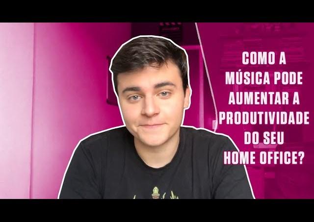 Como a música pode aumentar a produtividade do seu home office?