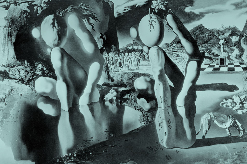 <strong>A Metamorfose de Narciso, de Salvador Dalí. (Freud não gostou.)</strong>