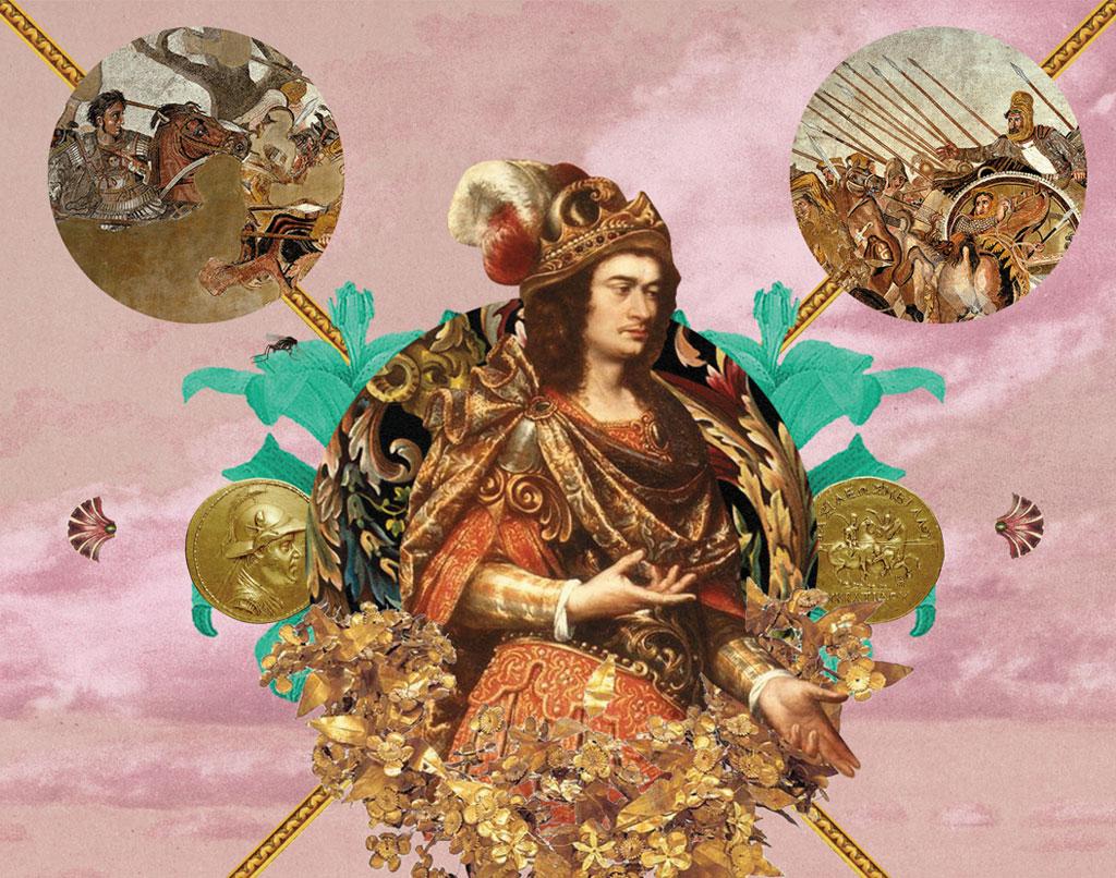 <strong>Alexandre foi um excelente conquistador, mas deixou a desejar na gestão. Morreu antes de deixar herdeiros.</strong>