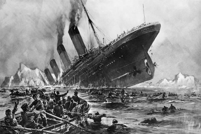Arquivo | O naufrágio do Titanic (aniversário do desastre)