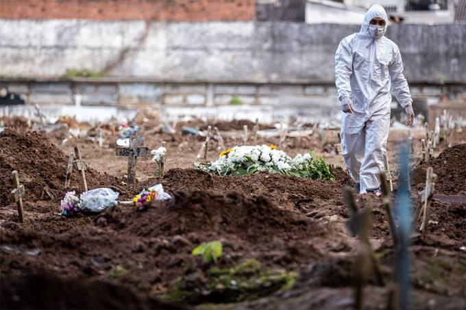 Estudo projeta 90 mil mortes por Covid no Brasil até agosto