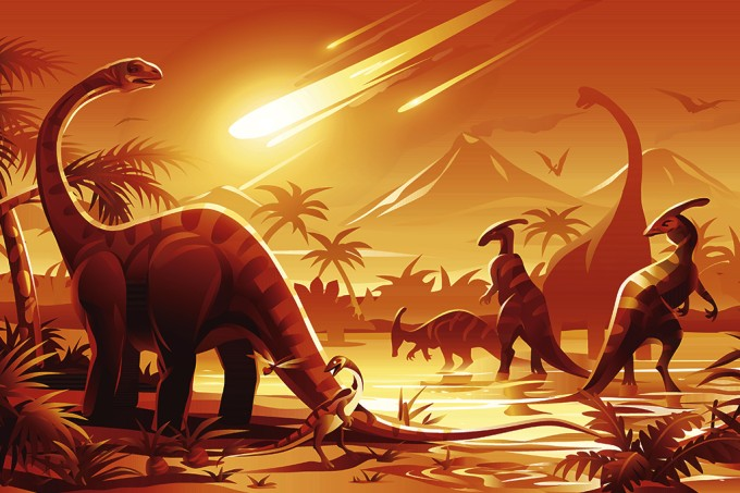 Asteroide que extinguiu dinossauros teve a pior trajetória possível