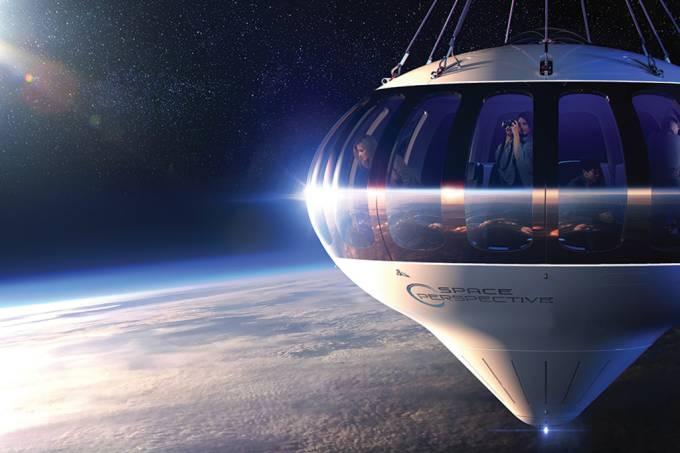 Empreendedores planejam oferecer passeios de balão na estratosfera