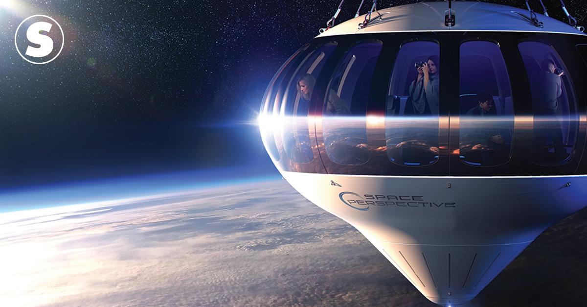 Empresários dos EUA querem oferecer passeios de balão na estratosfera