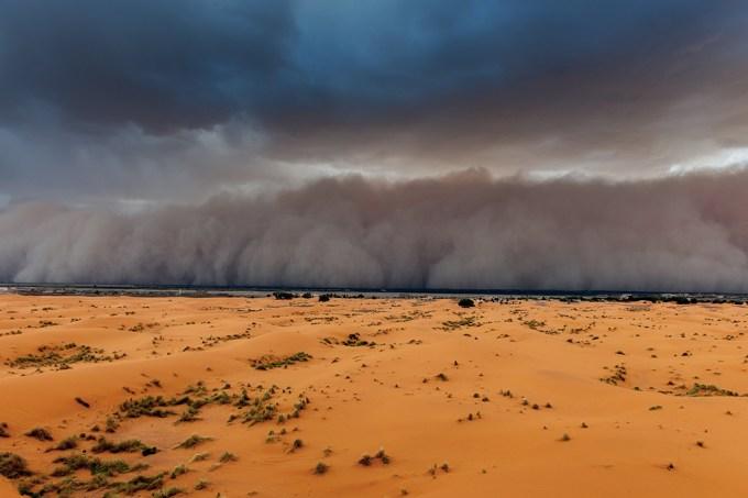 Tempestade de areia vinda do Saara se encaminha para os EUA (SEO)