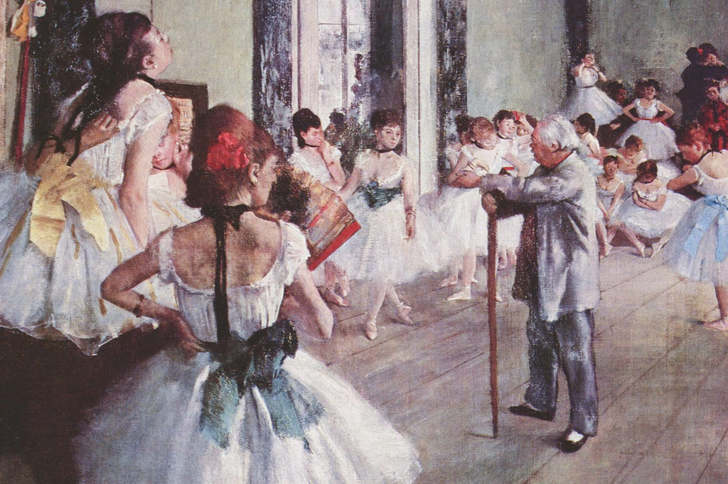 <strong>Claridade: adoravam representar a luz sobre as saias de mulheres.</strong>
