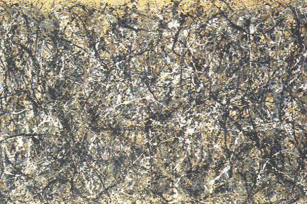 <strong>Pinga-pinga: ao jogar tinta nas obras, Pollock deixou os significados abertos.</strong>