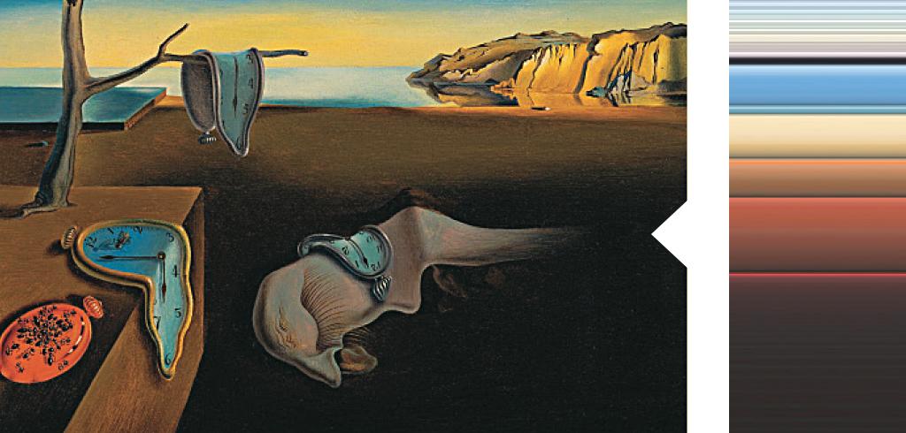 <strong>Por mais contraditório que pareça, os quadros surrealistas são os que costumam ter as cores mais realistas.</strong>