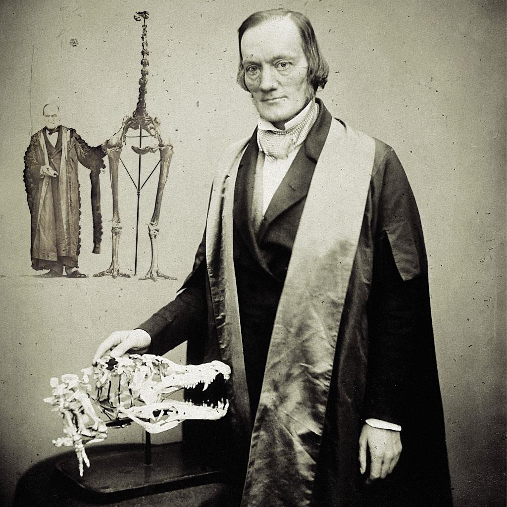 """<strong>Sir Richard Owen, o criador do termo """"dinossauro"""".</strong>"""