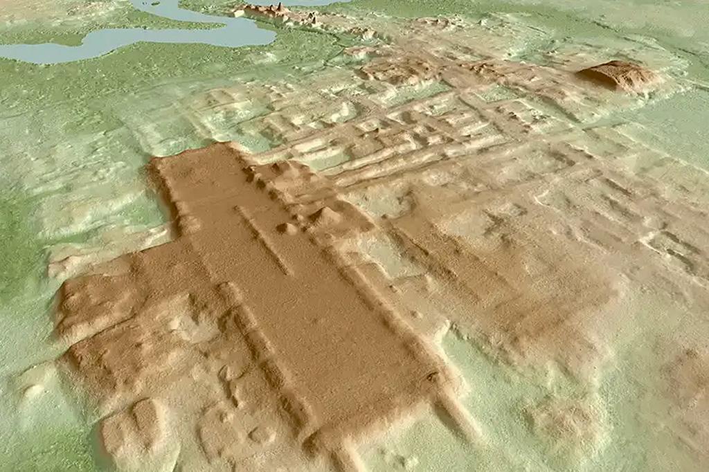 Maior e mais antigo monumento maia é encontrada no México