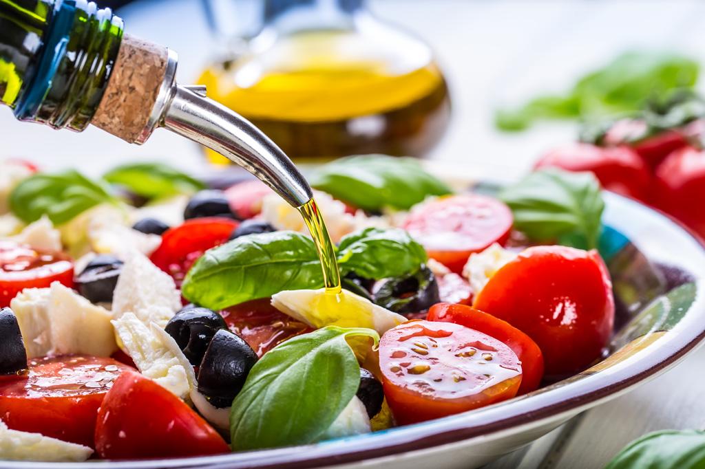 <strong>A dieta mediterrânea reúne alimentos com alto teor nutritivo e antioxidantes.</strong>