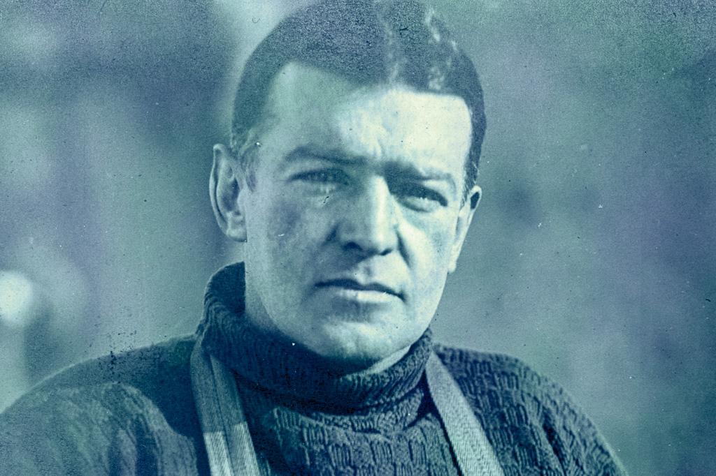 <strong>Sir Ernest Shackleton concebeu e liderou a última grande expedição da Idade Heroica da Exploração da Antártida.</strong>