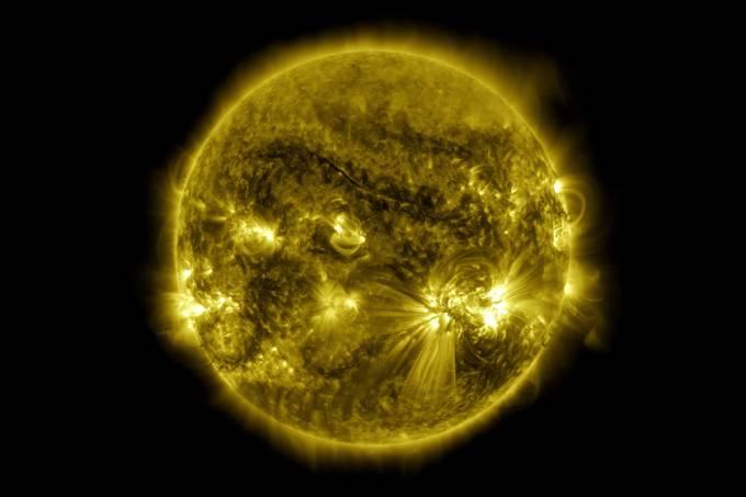 Nasa libera vídeo impressionante que mostra 10 anos de fotos do Sol